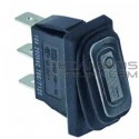 Interruptor blanco basculante 30x11 C/PROT