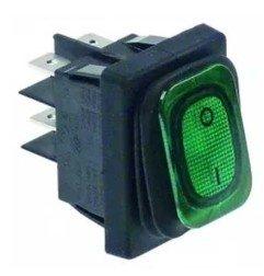 Interruptor verde basculante 30x22