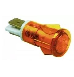 Piloto-bombilla señal amarilla