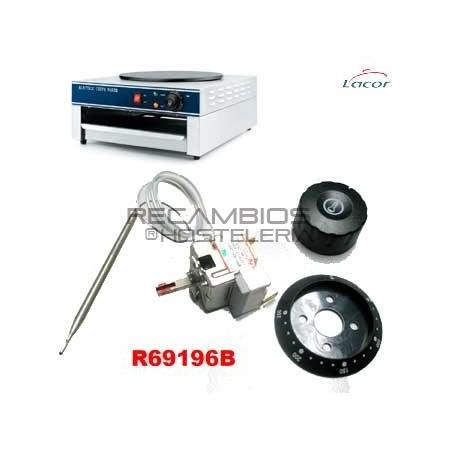 Termostato Crepera Lacor 69196