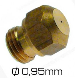 Inyector-chiclé Repagas 0,95 mm