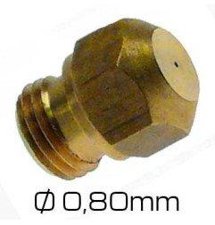 Inyector-chiclé Repagas 0,80 mm
