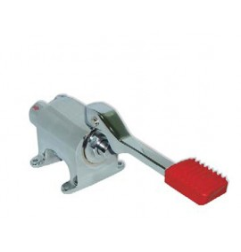 Grifo pedal 1 palanca 2 aguas