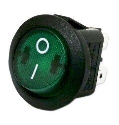 Interruptor Verde Ø20 mm