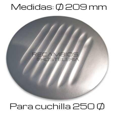Protector Cuchilla Cortadora disco 250Ø
