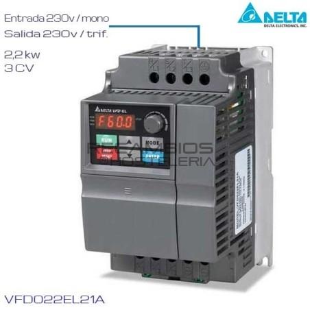 Variador de Frecuencia 230V 3 Cv