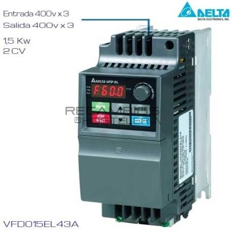 Variador de Frecuencia 400V 1,5 Cv