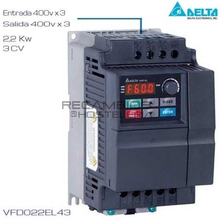 Variador de Frecuencia 400V 3 Cv