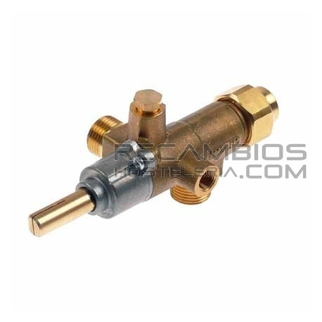 Grifo gas tipo CAL-3200 (tubo ø 12mm) COPRECI