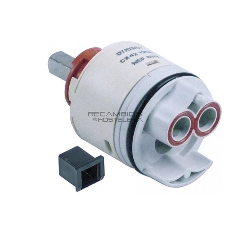 Di/ámetro 40 mm//altura 62 mm Unidad de control para grifos monomando. Cartucho de cer/ámica de repuesto para grifo