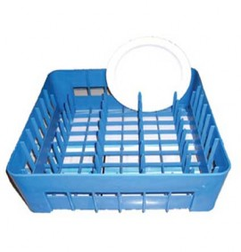 Cesta 35x35 de platos para lavavasos