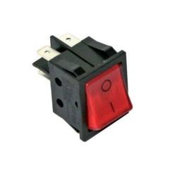 Interruptor Rojo Basculante