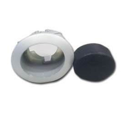 Botón oval gris lavavajillas Silanos